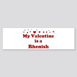 Rhenish Valentine Bumper Sticker