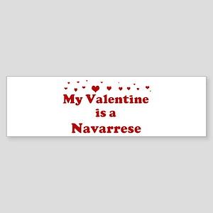 Navarrese Valentine Bumper Sticker