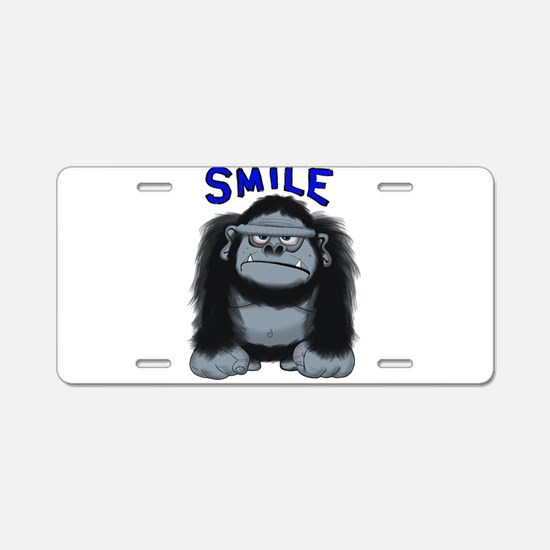 Cute Dad is king Aluminum License Plate