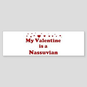 Nassuvian Valentine Bumper Sticker