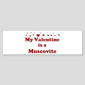 Muscovite Valentine Bumper Sticker