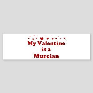 Murcian Valentine Bumper Sticker