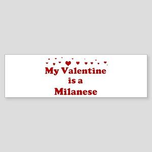 Milanese Valentine Bumper Sticker