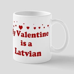 Latvian Valentine Mug