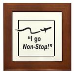I Go Non-Stop! Framed Tile
