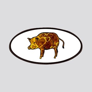 Golden Heart Pig Patch