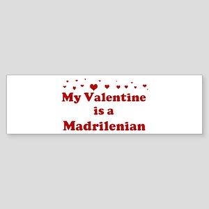 Madrilenian Valentine Bumper Sticker