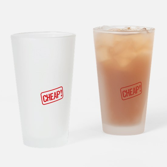 Cute Rent Drinking Glass