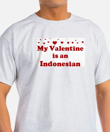 Indonesian Valentine T-Shirt