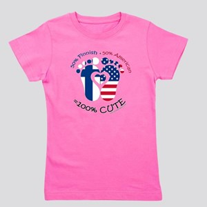 Finnish American Baby T-Shirt