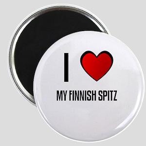 I LOVE MY FINNISH SPITZ Magnet