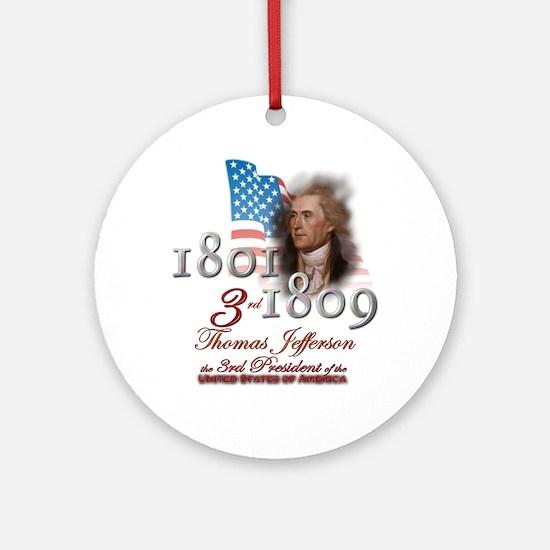 3rd President - Ornament (Round)