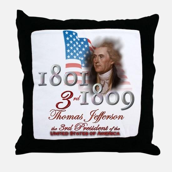 3rd President - Throw Pillow