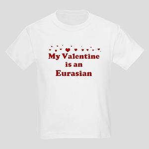 Eurasian Valentine Kids Light T-Shirt