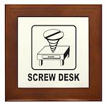 Screw Desk Framed Tile