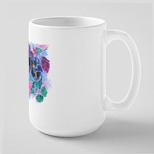 PANSY GARDEN Large Mug