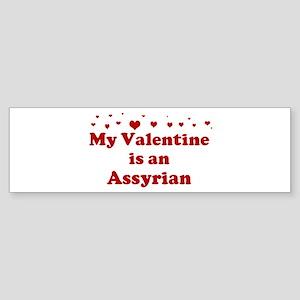 Assyrian Valentine Bumper Sticker