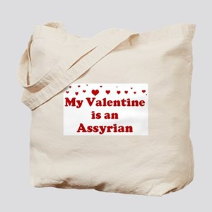 Assyrian Valentine Tote Bag
