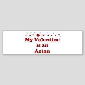 Asian Valentine Bumper Sticker