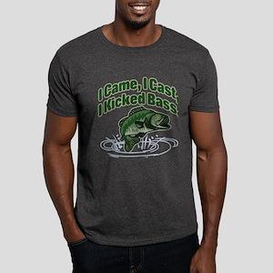 CAME, CAST, KICKED BASS Dark T-Shirt