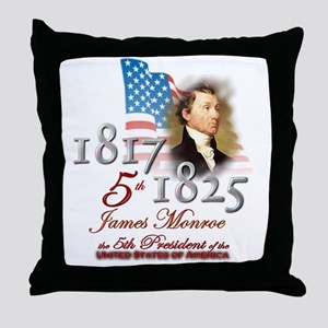 5th President - Throw Pillow
