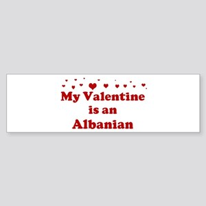 Albanian Valentine Bumper Sticker