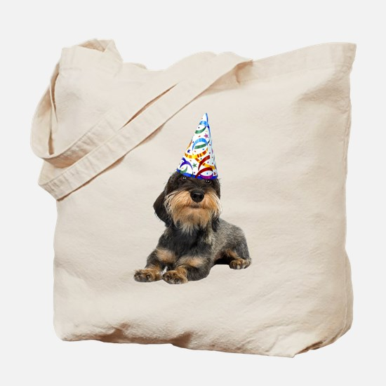 Wirehaired Dachshund Party Tote Bag