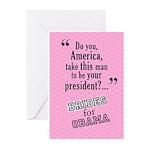 Democratic Wedding Greeting Cards (Pk of 10)