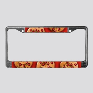 Love Chip Cookie License Plate Frame