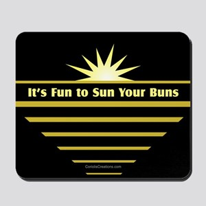 Fun-Sun-Buns - Mousepad