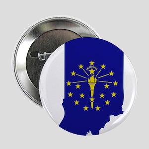 "Indiana Stripe Custom Design 2.25"" Button"