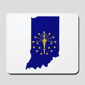 Indiana Stripe Custom Design Mousepad