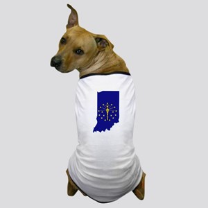 Indiana Stripe Custom Design Dog T-Shirt