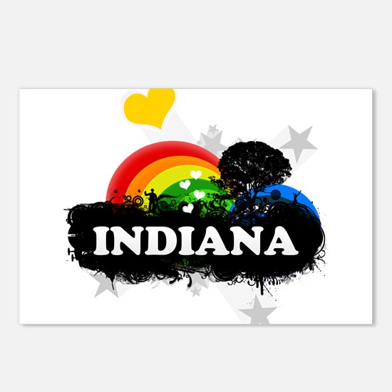 Sweet Fruity Indiana Postcards (Package of 8)