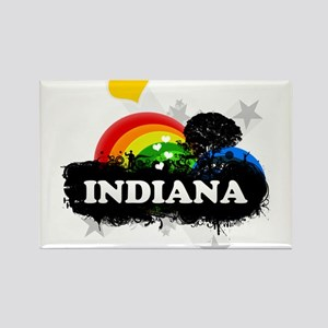 Sweet Fruity Indiana Rectangle Magnet