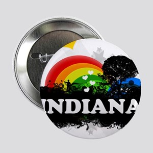 """Sweet Fruity Indiana 2.25"""" Button"""