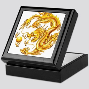 Golden Dragon Keepsake Box