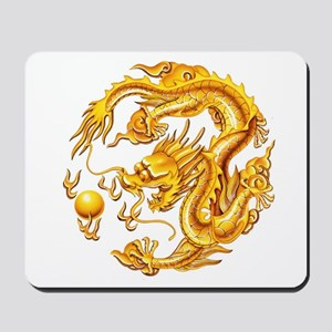 Golden Dragon Mousepad