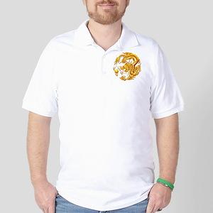 Golden Dragon Golf Shirt