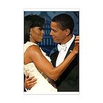 Barack and Michelle Mini Poster Print