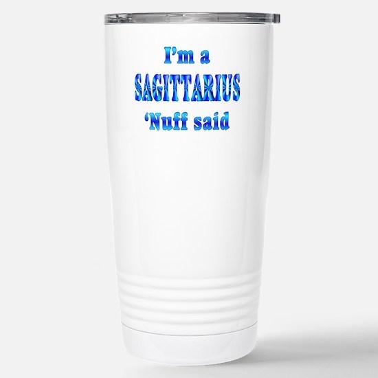 Sagittarius Stainless Steel Travel Mug