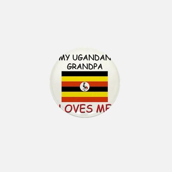 My Ugandan Grandpa Loves Me Mini Button