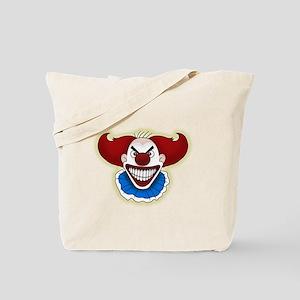 Psycho Clown Tote Bag