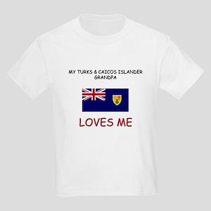 My Turks & Caicos Islander Grandpa Loves Me Kids L