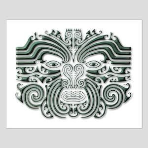 Maori Tattoo-stone Small Poster