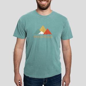 Retro City of Pocatello Mountain Shirt T-Shirt