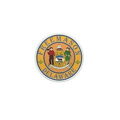 Delaware Masons Mini Button (10 pack)