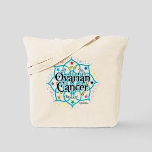 Ovarian Cancer Lotus Tote Bag