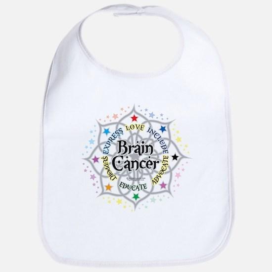 Brain Cancer Lotus Bib
