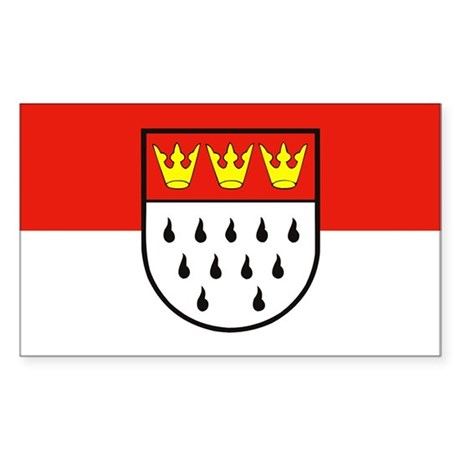 Cologne flag sticker